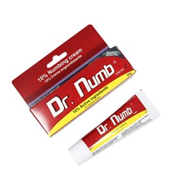 Dr. Numb 10% Active Ingredients